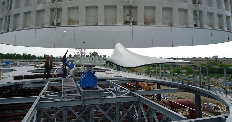 Монтаж вентиляторных агрегатов