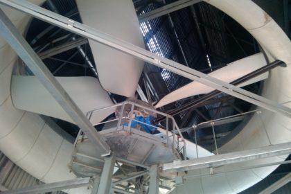 Вентиляторы для сухих градирен