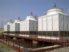 Семь градирен серии CTV-5000